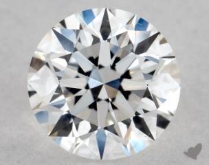 Round 0.72, color D, VS2  Excellent diamond