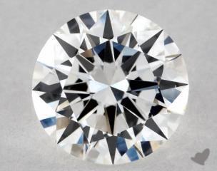 Round 1.00, color F, VS1  Excellent diamond