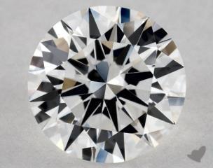 Round 1.00, color E, VVS2  Excellent diamond