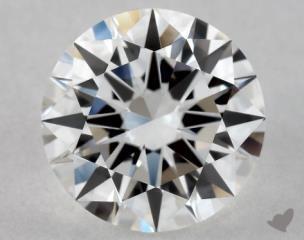 Round 0.90, color D, VVS2  Excellent diamond