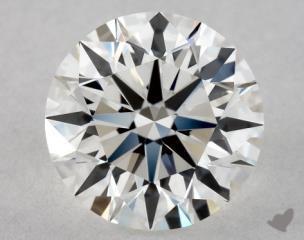 Round 0.90, color G, VVS2  Excellent diamond