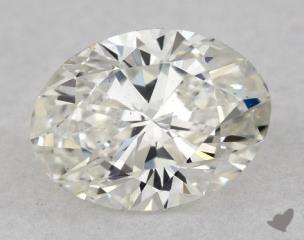 Oval 0.71, color H, SI1  Very Good diamond
