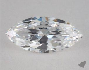 Marquise 2.02, color D, VS2  Very Good diamond