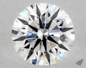 Round 0.53, color E, VVS1  Excellent diamond
