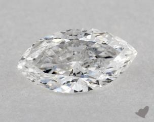 Marquise 0.55, color E, SI2  Very Good diamond