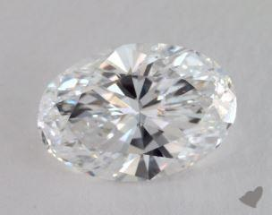 Oval 6.04, color E, VS2  Very Good diamond