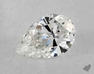 Pear 0.71, color G, I1  Very Good diamond