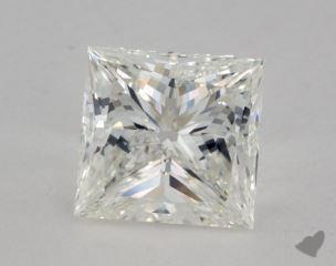 Princess 3.31, color H, SI2  Very Good diamond