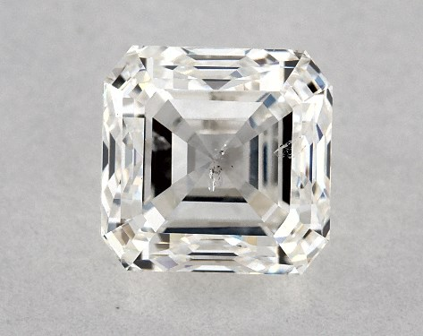Asscher 0.90, color G, SI2  Very Good diamond