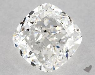 Cushion 0.81, color F, VS1  Very Good diamond