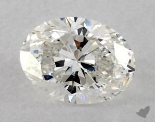 Oval 0.94, color H, VVS2  Very Good diamond