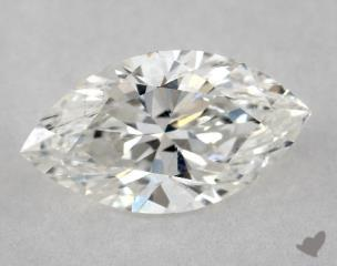 Marquise 1.02, color G, SI1  Very Good diamond