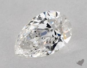 Pear 1.20, color F, SI2  Very Good diamond