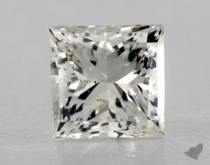 Princess 0.96, color J, SI2  Very Good diamond