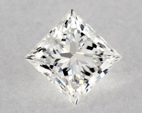 Princess 0.37, color H, VS2  Ideal diamond