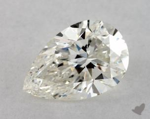Pear 1.00, color J, VS1  Very Good diamond