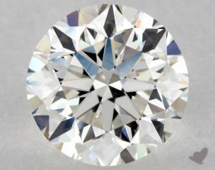 Round 1.02, color H, VVS2  Very Good diamond
