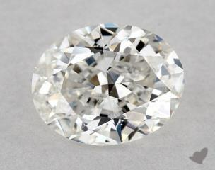 Oval 0.91, color F, VS2  Very Good diamond