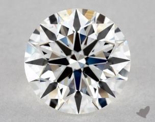 Round 1.29, color F, VS1  Ideal diamond
