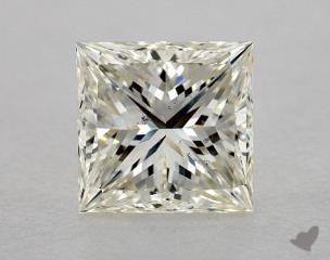 Pear 3.08, color K, SI1  Very Good diamond