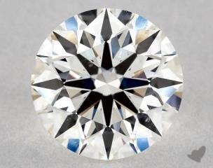 Round 1.33, color H, VS2  Ideal diamond