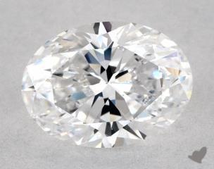 Oval 0.71, color D, VVS2  Very Good diamond