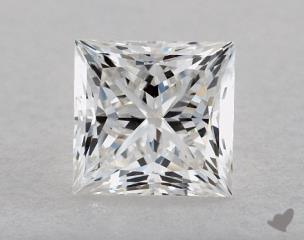 Princess 0.71, color F, VVS1  Very Good diamond