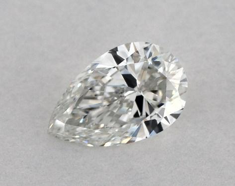 Pear 0.50, color F, VVS2  Very Good diamond
