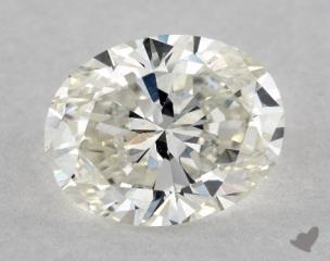 Oval 1.20, color I, VS2  Very Good diamond