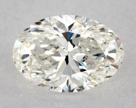 Oval 0.62, color H, VVS1  Very Good diamond