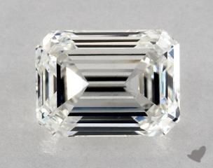 Emerald 2.02, color G, VS1  Very Good diamond