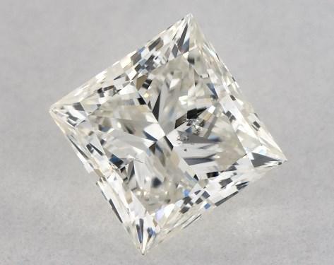 Princess 0.50, color J, SI2  Very Good diamond