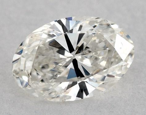 Oval 0.61, color I, SI1  Very Good diamond