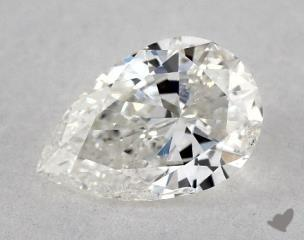 Pear 0.52, color H, SI2  Very Good diamond