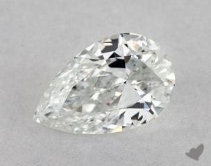 Pear 0.53, color E, VS1  Very Good diamond