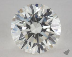 Round 2.50, color I, SI1  Very Good diamond