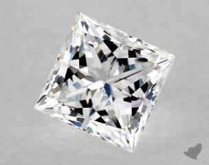 Princess 0.92, color F, SI2  Very Good diamond