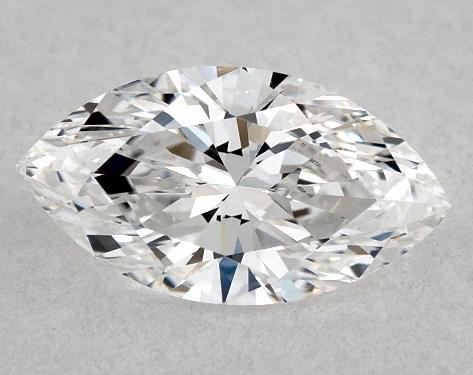 Marquise 0.37, color E, SI1  Very Good diamond