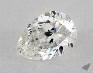 Pear 0.70, color G, VS2  Very Good diamond