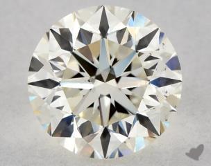 Round 1.20, color J, VS2  Very Good diamond