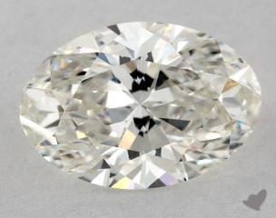 Oval 1.01, color H, VVS2  Very Good diamond
