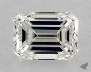 Emerald 0.90, color I, VS1  Very Good diamond