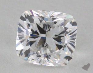 Cushion 1.02, color D, VS1  Very Good diamond