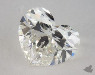 Heart 3.10, color H, VS2  Very Good diamond
