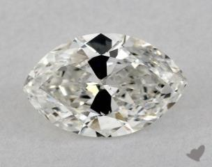 Marquise 0.95, color G, SI1  Very Good diamond