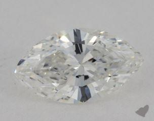 Marquise 2.02, color G, VS1  Very Good diamond