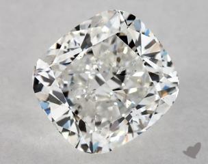 Cushion 1.40, color G, VS2  Very Good diamond