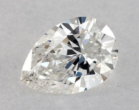 Pear 0.23, color G, SI1  Very Good diamond