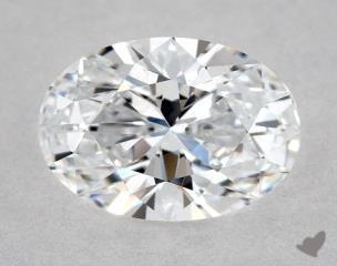 Oval 0.74, color D, VVS2  Very Good diamond