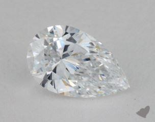 1.01 Carat D-IF Pear Cut Diamond